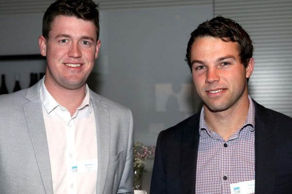 GYP Networking Breakfast with Jem Fuller.  Ben Davis and Al Hickey. Picture: Mike Dugdale