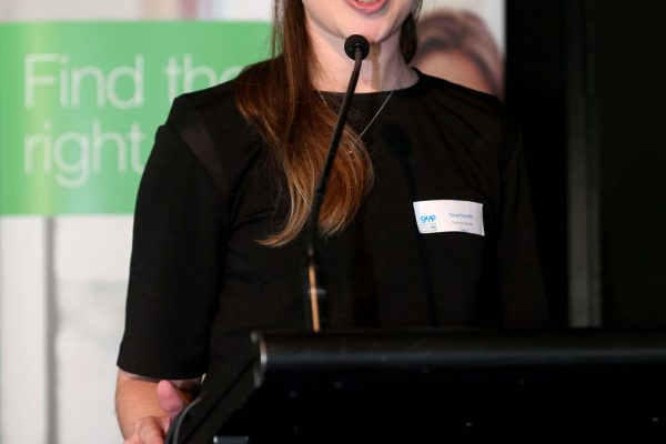 GYP Networking Breakfast with Jem Fuller. Tanya Garreffa. Picture: Mike Dugdale