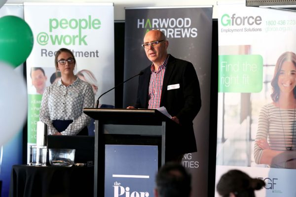 GYP Networking Breakfast with Jem Fuller.  Brenden Calagari. Picture: Mike Dugdale