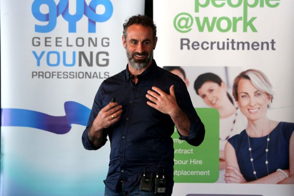 GYP Networking Breakfast with Jem Fuller. Picture: Mike Dugdale
